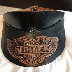 Harley-Davidson Accessories - Harley Davidson cap and visor lot